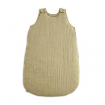 Gigoteuse en gaze de coton bio - Jaune clair, Mellow yellow