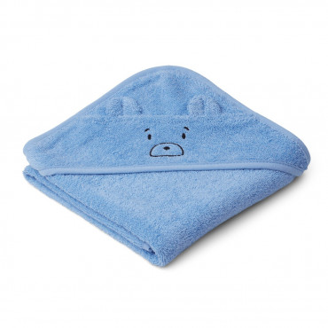 Cape de bain Albert - Mr bear blue