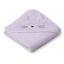 Cape de bain Albert - Cat light lavender