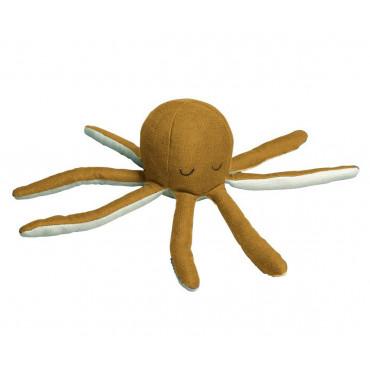 Hochet pieuvre - Ocre