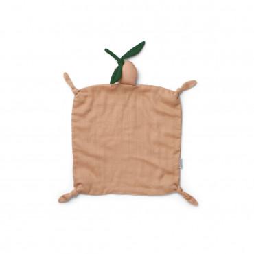 Doudou carré Agnete - Peach/Peach