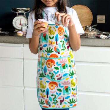 Tablier de cuisine enfant - Wild wonders
