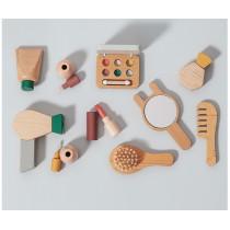 Set de maquillage en bois