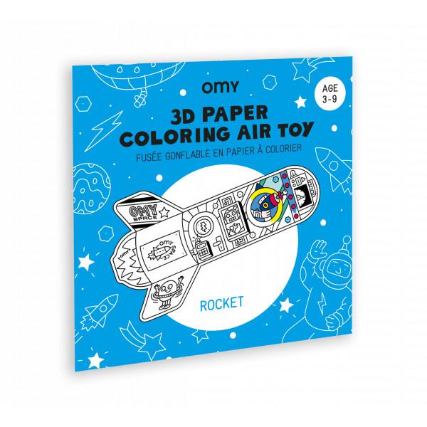 Jouet 3D à colorier Air toy - Rocket