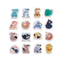 Puzzle de bain animaux sauvages