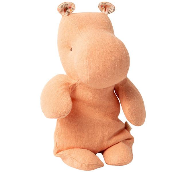 Peluche Safari Friends - Hippo, Abricot