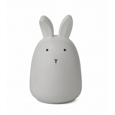 Lampe veilleuse rechargeable Winston - Lapin gris dumbo grey