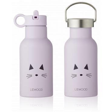Gourde isotherme Anker - Cat light lavender