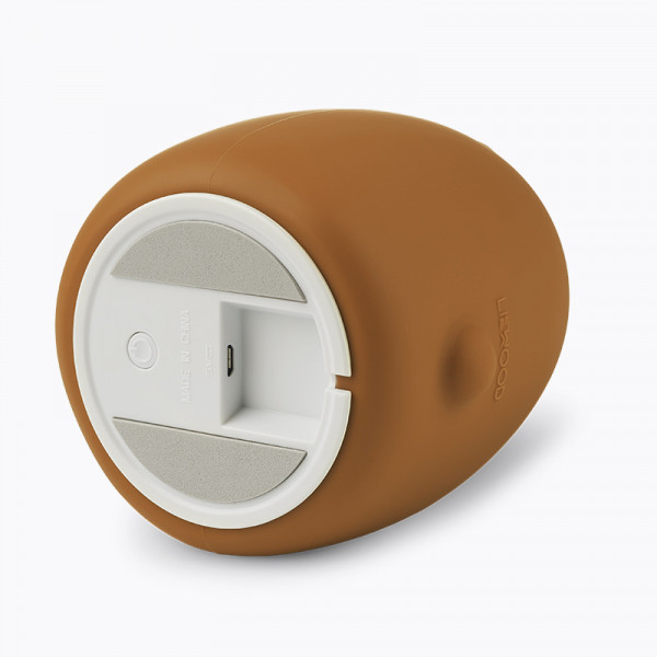 Lampe veilleuse rechargeable Winston - Ours golden caramel