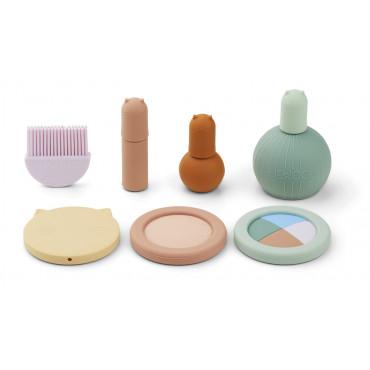 Set de maquillage en silicone Elisabeth - Multi mix