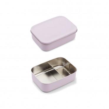 Lunchbox métal Jimmy - Cat light lavender