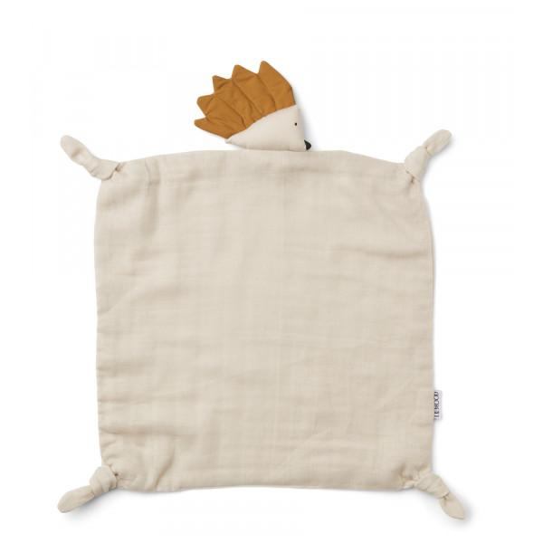 Doudou carré Agnete - Hedgehog sandy