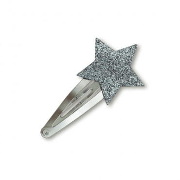 Barrette clip Etoile - Glitter agent