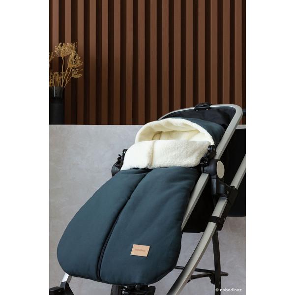 Chancelière imperméable Baby on the go - Carbon blue