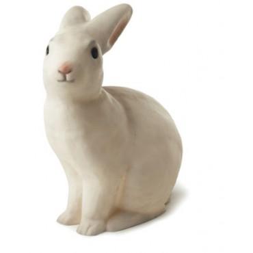Lampe veilleuse - lapin blanc