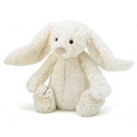 Peluche lapin - Bashful blanc