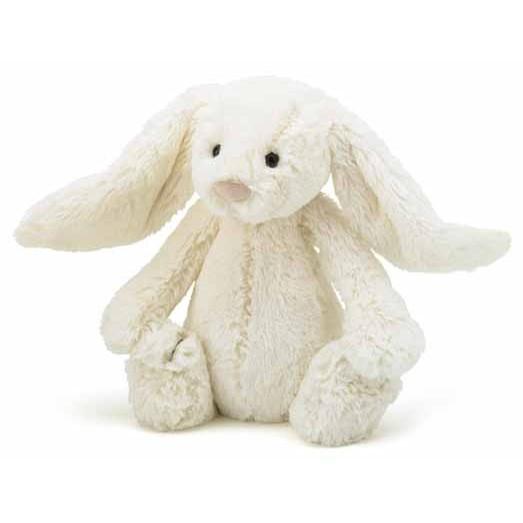 Peluche lapin - Bashful blanc medium