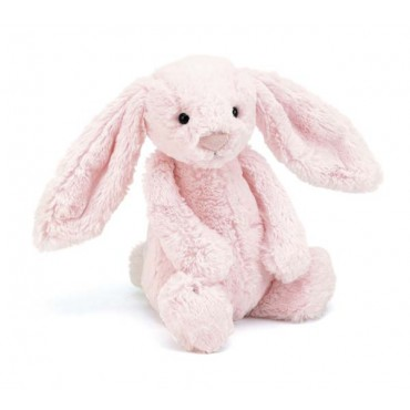 Peluche lapin - Bashful rose medium