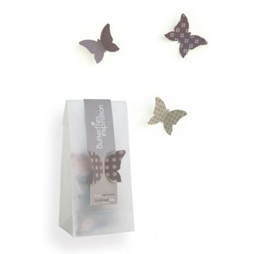 Lot de 15 papillons décoratifs 3D