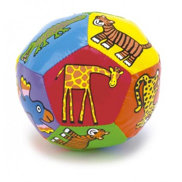 Ballon Boing - Animaux de la jungle