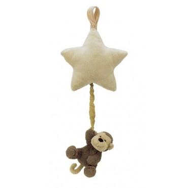 Boite à musique étoile singe - Bashful