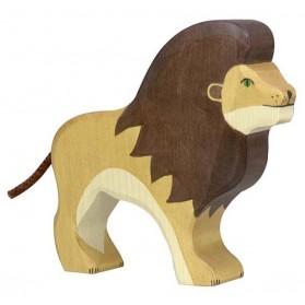 Figurine en bois - Lion
