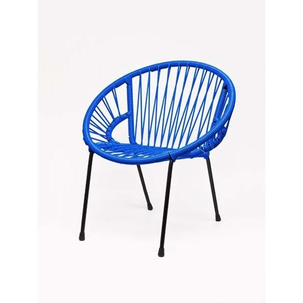 Chaise enfant Tica Scoubidou - bleu