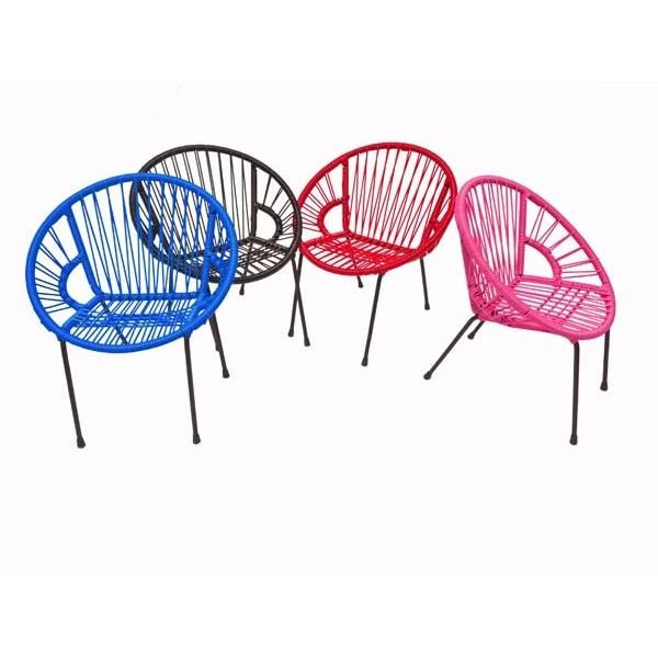Chaise enfant Tica Scoubidou - 4 chaises
