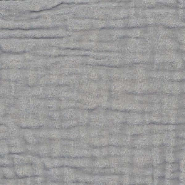 Rideau gaze de coton - Gris clair