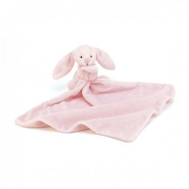 Doudou lapin - Bashful soother rose