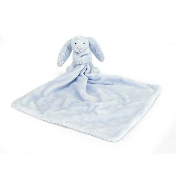 Doudou lapin - Bashful soother bleu
