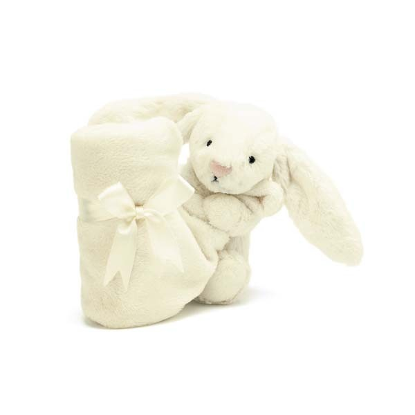 Doudou lapin - Bashful soother crème