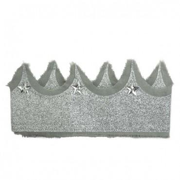 Couronne de princesse - Argent et gris