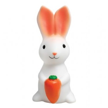 Petite veilleuse lapin avec carotte