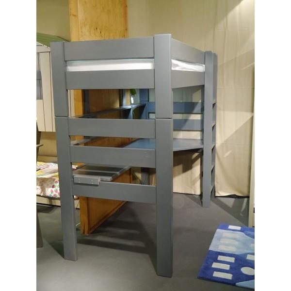 Lit mezzanine artichaut hauteur 186 cm dissociable