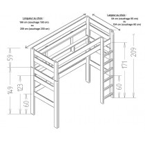 lit berceau le pestacle de ma lou. Black Bedroom Furniture Sets. Home Design Ideas