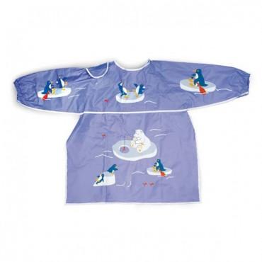 Tablier d'activité plastifié - Pingouin