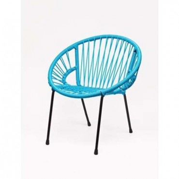 Chaise enfant Tica - Turquoise