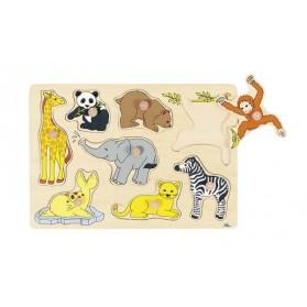 Puzzle à encastrements - Zoo
