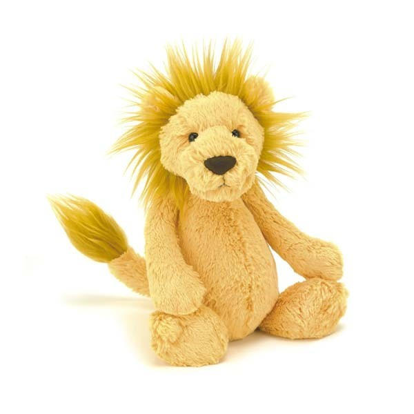 Peluche lion - Bashful marron medium
