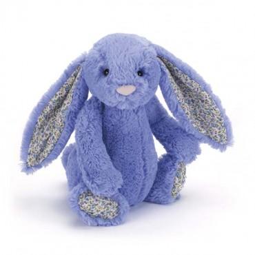 Peluche lapin - Bashful liberty bleu violet