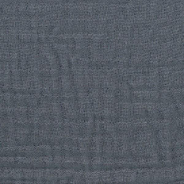 Tour de lit - Lange uni gris bleu
