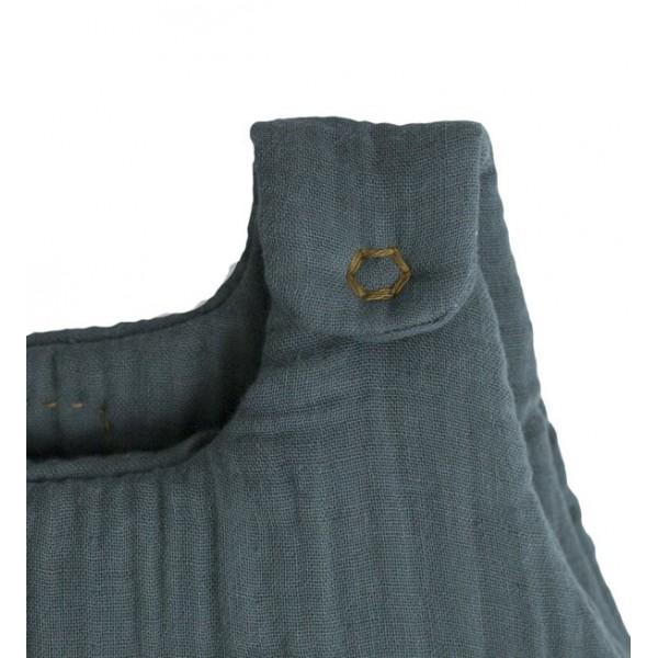 Gigoteuse - Lange un gris bleu