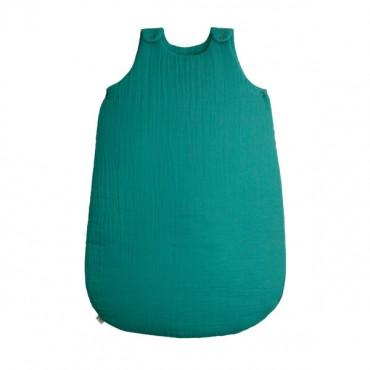 Gigoteuse - Lange uni vert turquoise