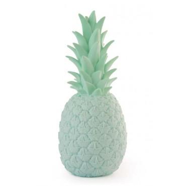 Lampe veilleuse Ananas - Vert d'eau