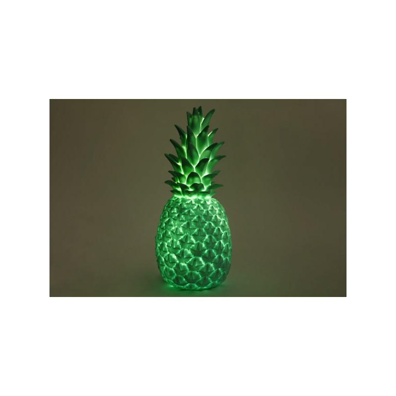 lampe veilleuse ananas vert le pestacle de ma lou. Black Bedroom Furniture Sets. Home Design Ideas