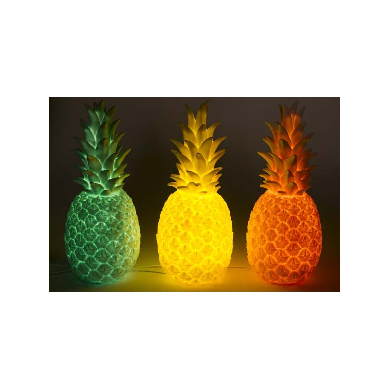 lampe veilleuse ananas rose le pestacle de ma lou. Black Bedroom Furniture Sets. Home Design Ideas