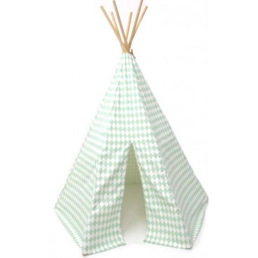 Tipi Arizona - Green Diamonds