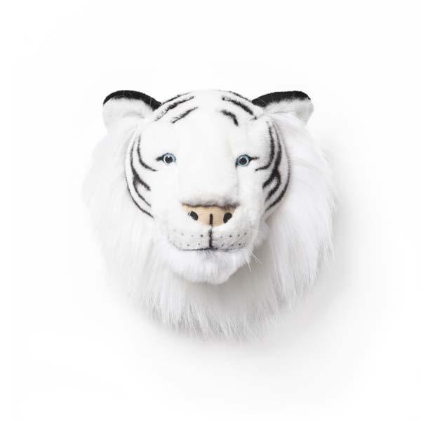 Trophée peluche Tigre blanc - Albert