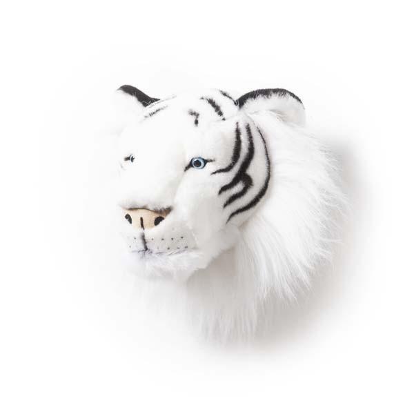 Trophée peluche Tigre blanc  Albert  Le Pestacle de Maëlou